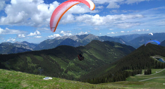 Tyrolean alpine flying circuit